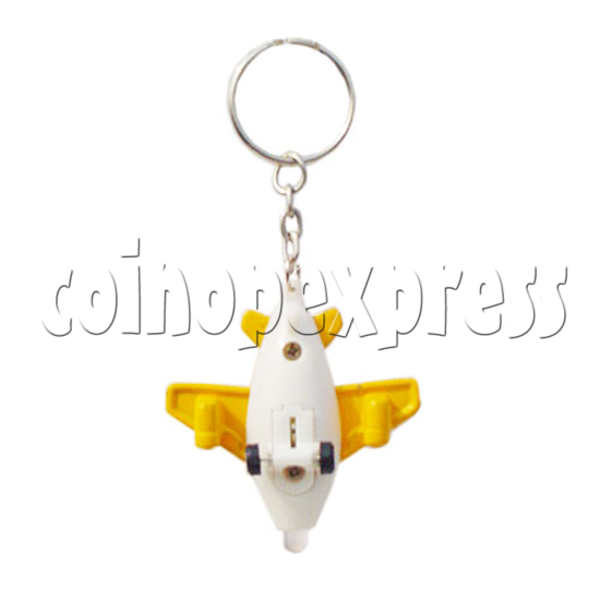 Mini Plane Light-up Key Rings 10328