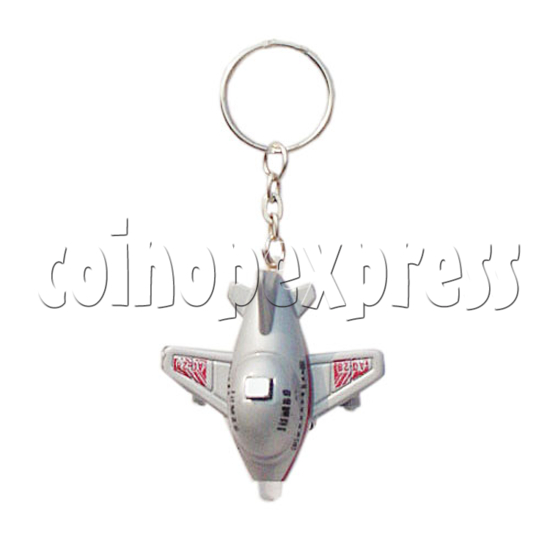 Mini Plane Light-up Key Rings 10330