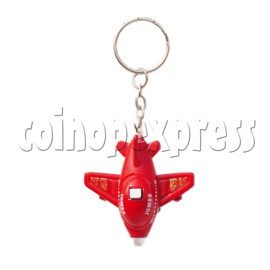 Mini Plane Light-up Key Rings 10331
