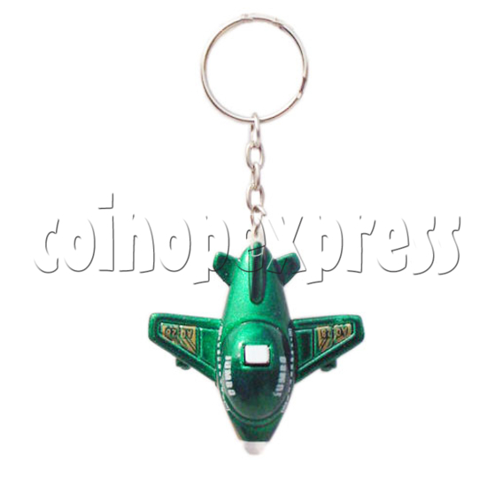Mini Plane Light-up Key Rings 10334