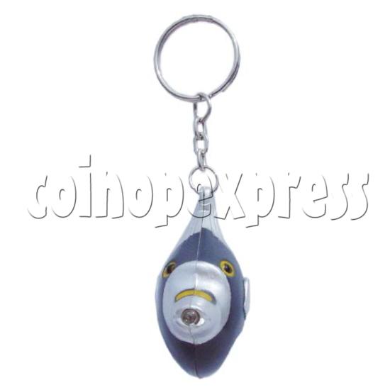 Fish Light-up Key Rings 10337