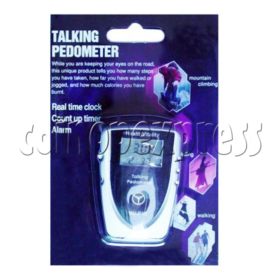 Talking Pedometer With Pacer Control 10376