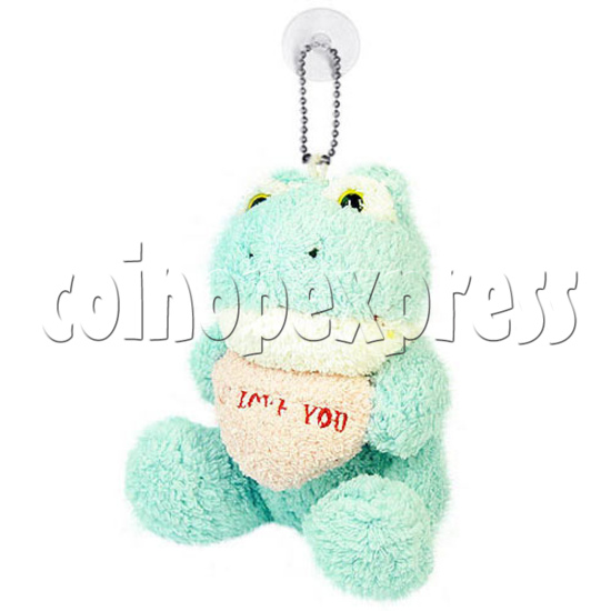 """5.5"""" Plush Flogs with Embroidered Heart 10382"""
