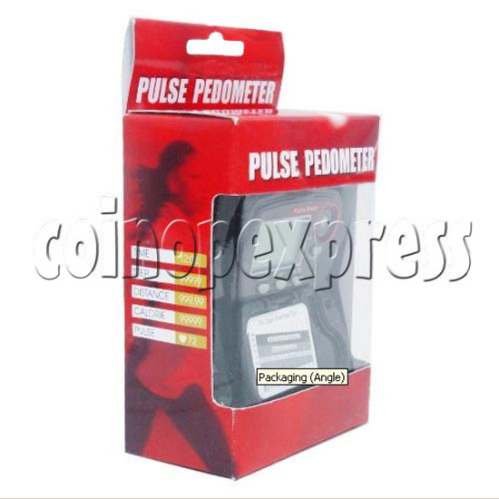 Easy-to-Operate Pulse Pedometer 10392