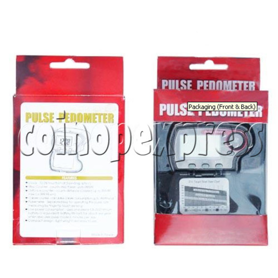 Easy-to-Operate Pulse Pedometer 10393