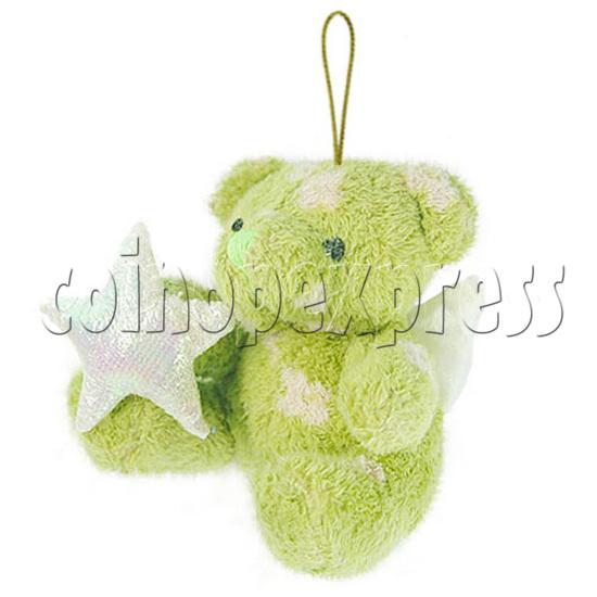 """4"""" Teddy Bear With Lucky Star 10394"""
