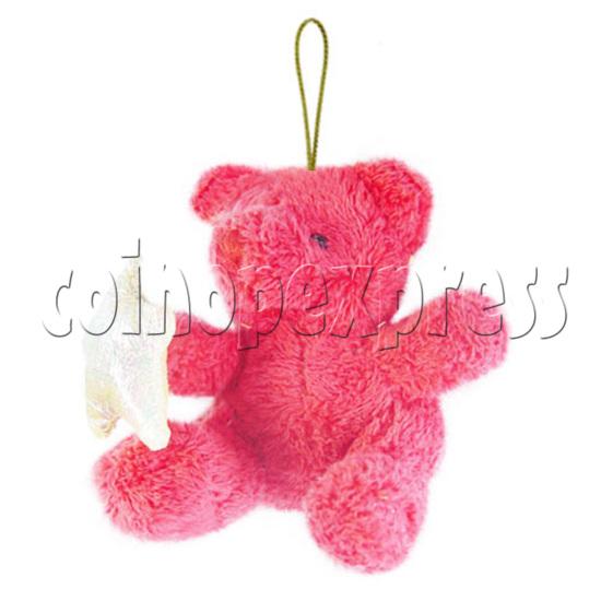 """4"""" Teddy Bear With Lucky Star 10395"""