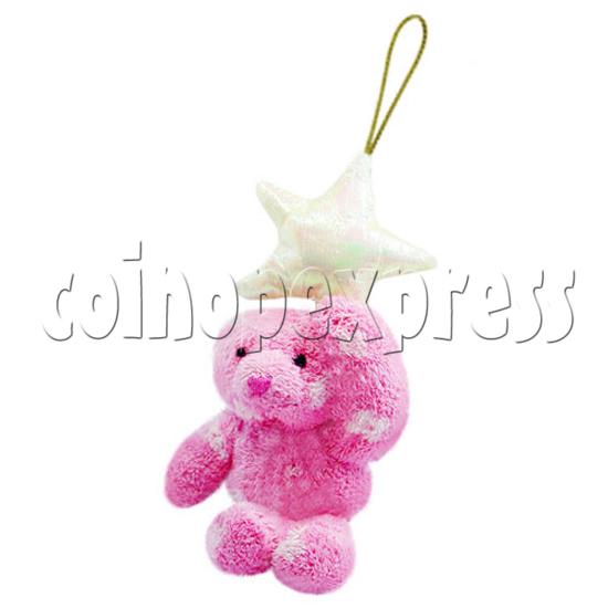 """4"""" Teddy Bear With Lucky Star 10396"""