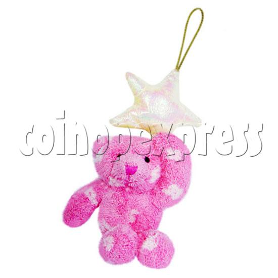 """4"""" Teddy Bear With Lucky Star 10398"""