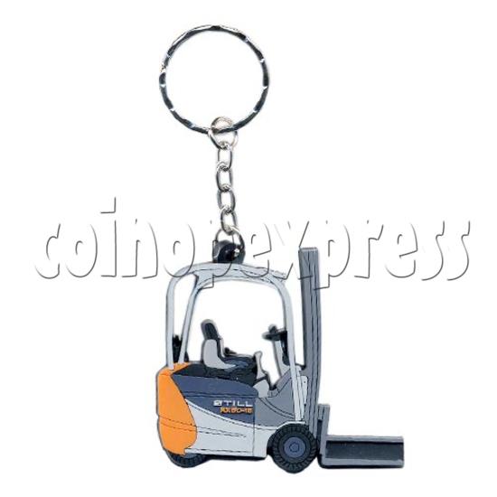 PVC Key Ring 10571
