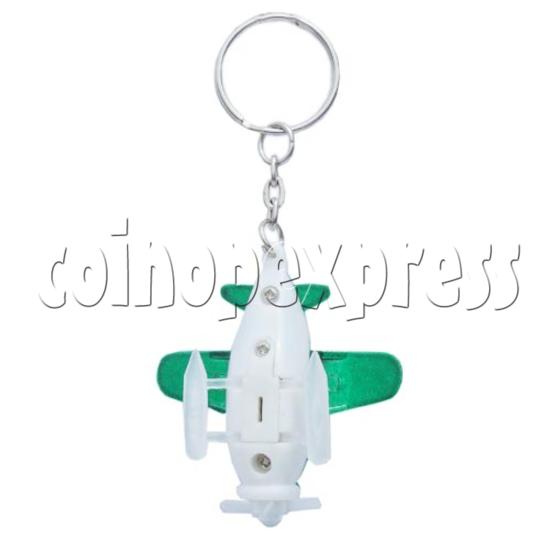 Mini Airplane Light-up Key Rings 10583