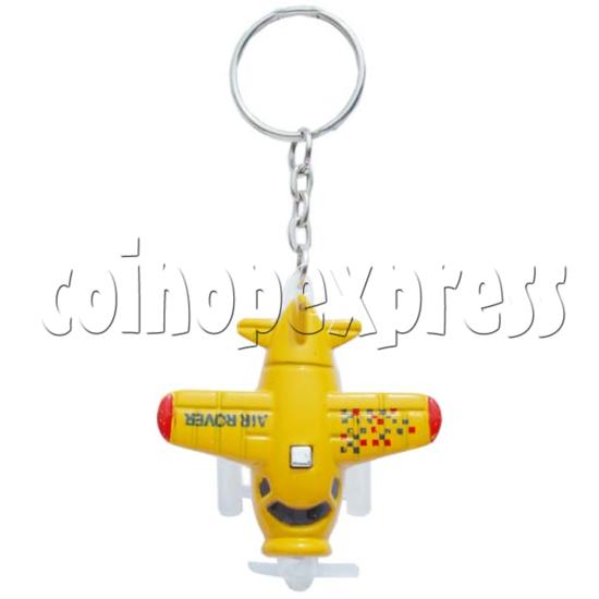 Mini Airplane Light-up Key Rings 10585