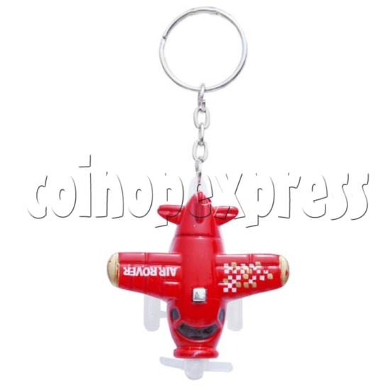 Mini Airplane Light-up Key Rings 10587