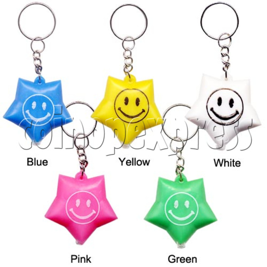 Colorful Torch Key Rings 10589