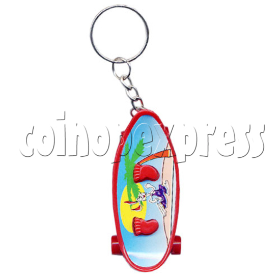 Pulley Light-up Key Rings 10599