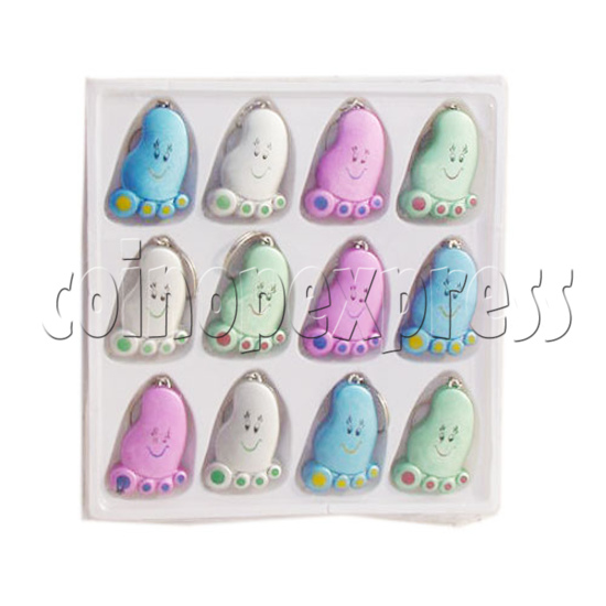 Foot Light-up Key rings 10614