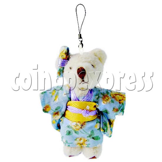 """2"""" Kimono Teddy Bear 10918"""