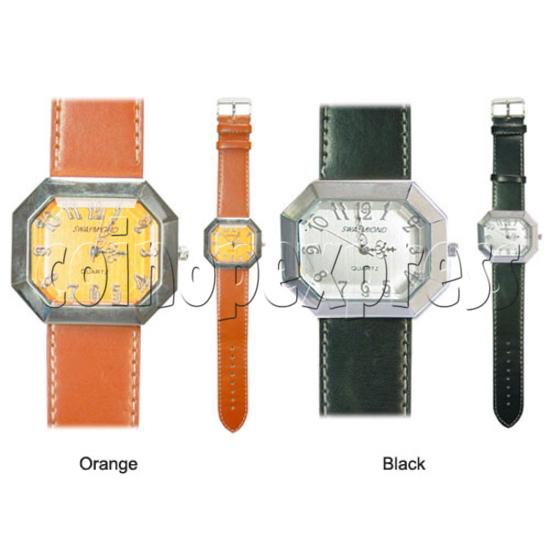 Polygonal Fashion Watches 11158