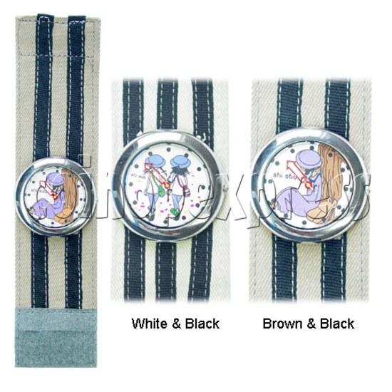 Elastic Fabric Watches 11241