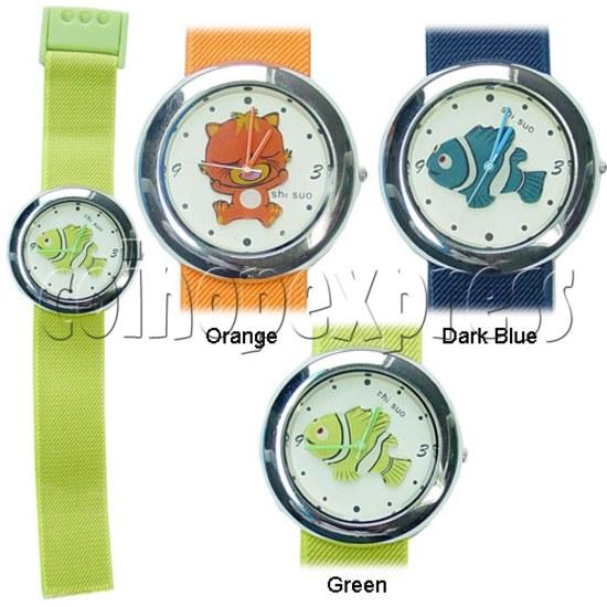 Elastic Fabric Watches 11242