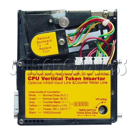 CPU Vertical Token Insertor 11285