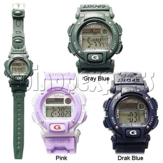 Multi-function EL Watches 11608