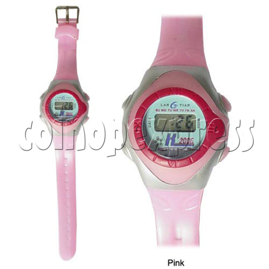 Battery Plastic Watches 11633