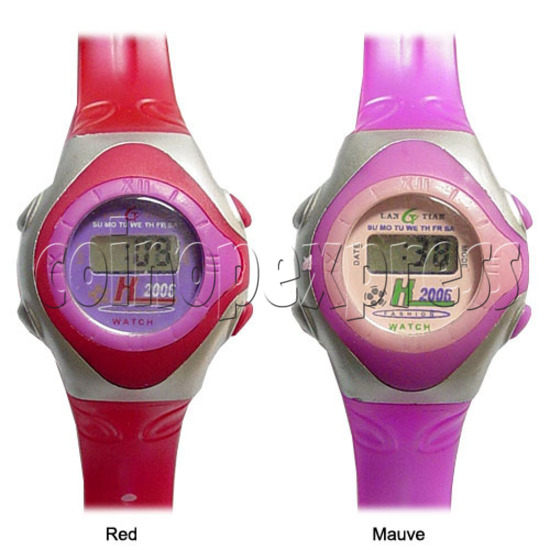 Battery Plastic Watches 11634