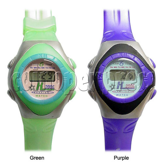 Battery Plastic Watches 11635
