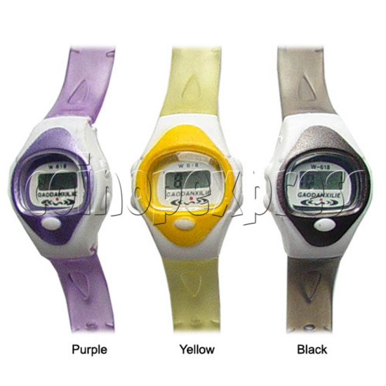 Battery Plastic Watches 11637