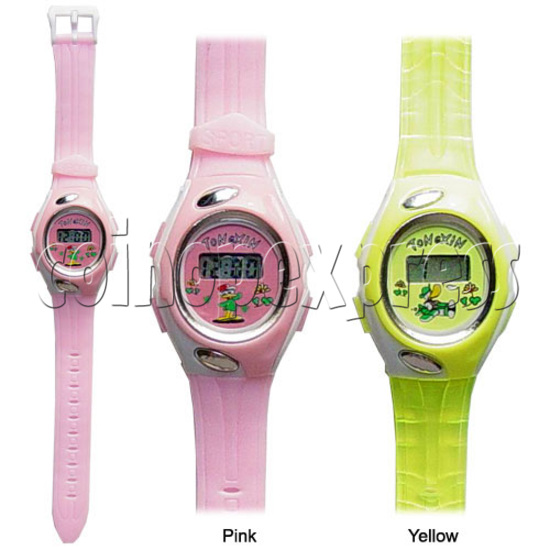 Battery Plastic Watches 11638