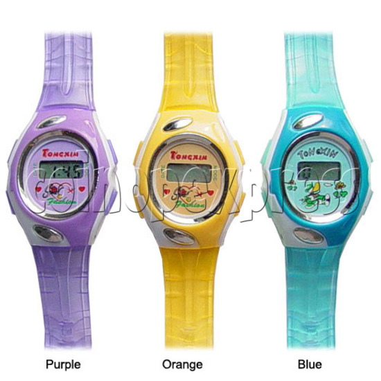 Battery Plastic Watches 11639
