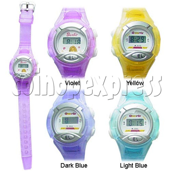 Battery Plastic Watches 11642
