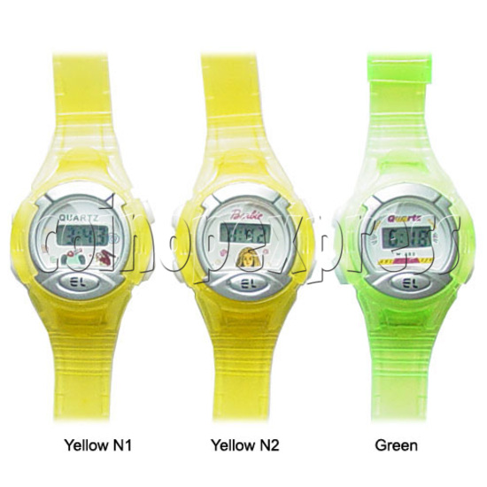 Battery Plastic Watches 11643