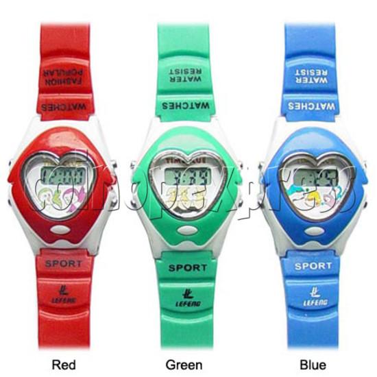 PVC Children Sport Watches 11706