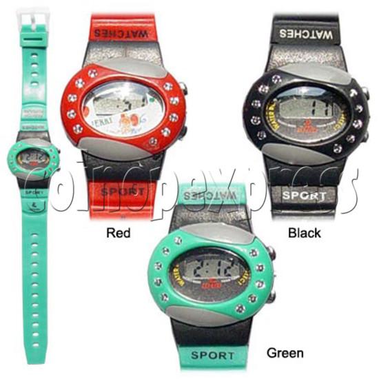 PVC Children Sport Watches 11709