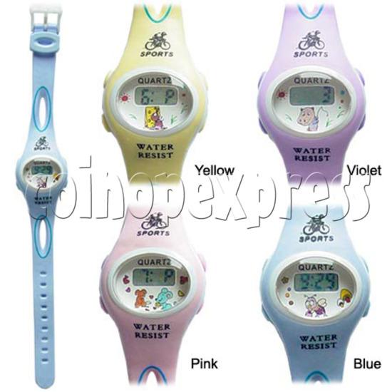 PVC Children Sport Watches 11710