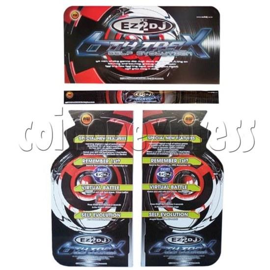 EZ 2 DJ 6th Trax Upgrade Kit (Self Evolution) 12137