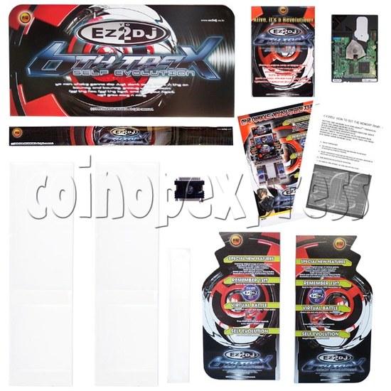 EZ 2 DJ 6th Trax Upgrade Kit (Self Evolution) 12145