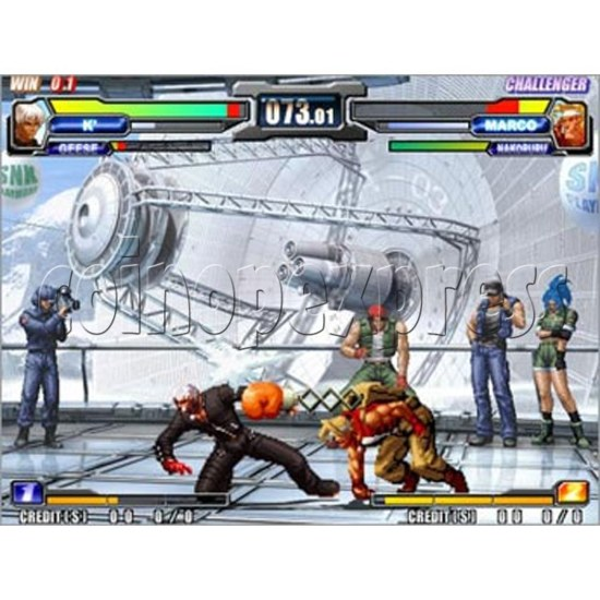 NeoGeo Battle Coliseum Kit -artwork 12248