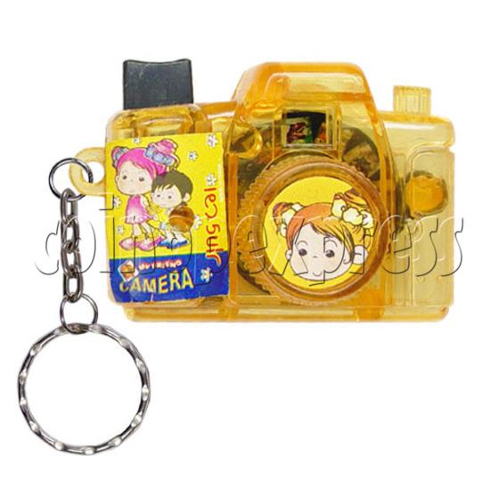 Cartoon Camera Light-up Key Rings 12325