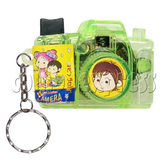 Cartoon Camera Light-up Key Rings 12326