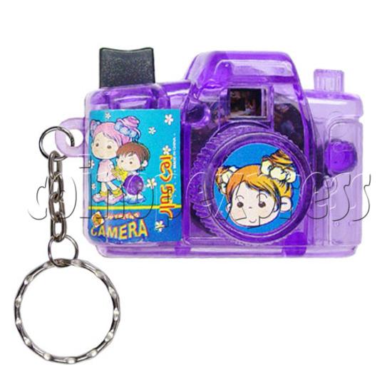 Cartoon Camera Light-up Key Rings 12327