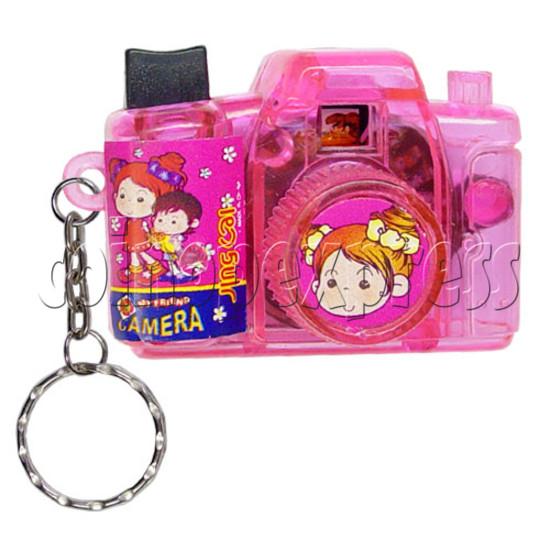 Cartoon Camera Light-up Key Rings 12329