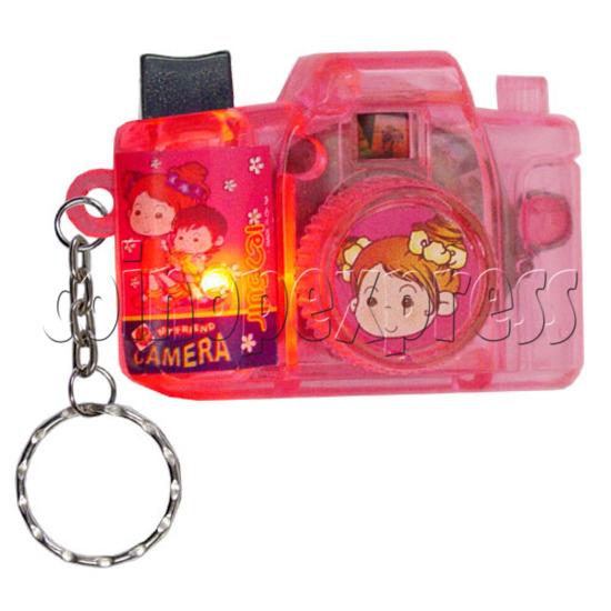 Cartoon Camera Light-up Key Rings 12330