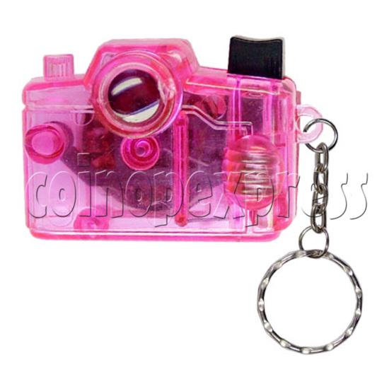 Cartoon Camera Light-up Key Rings 12333