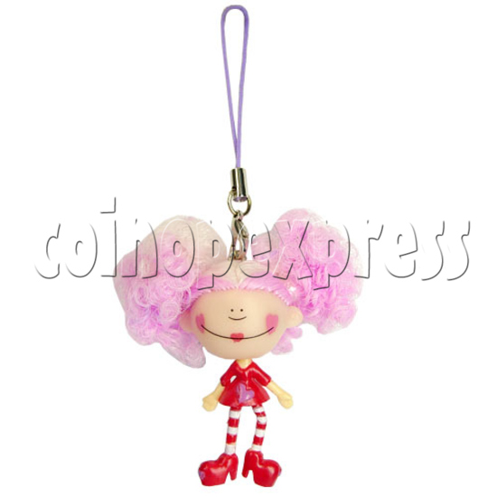 Animation Flashing Mobile Strap 12413