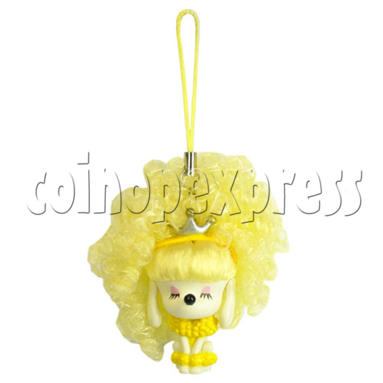 Sunshine Hair Color Change Mobile Phone Strap 12431