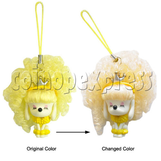 Sunshine Hair Color Change Mobile Phone Strap 12435