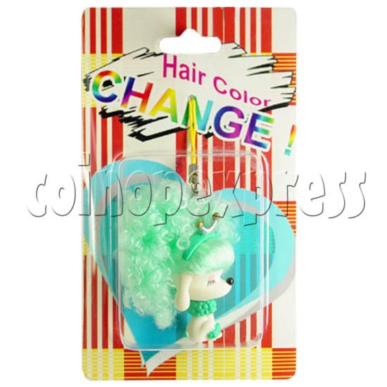Cold Light Color Hair Change Cellular Phone Strap 12441